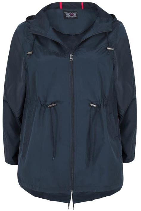 Navy Canvas Jacket Hoodie Ct Cvs 03 navy shower resistant pocket parka jacket with plus