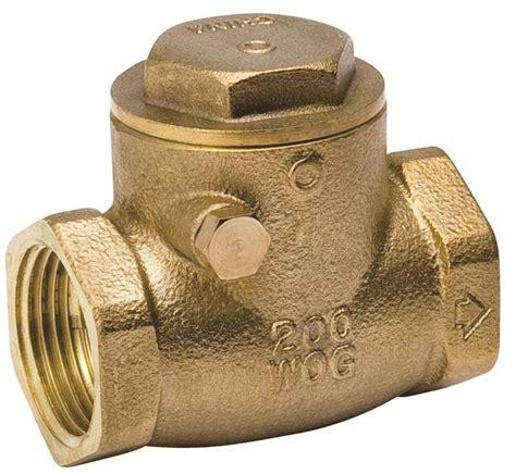 mueller swing check valve mueller proline swing check valve 3 4 in ips 200 psi brass