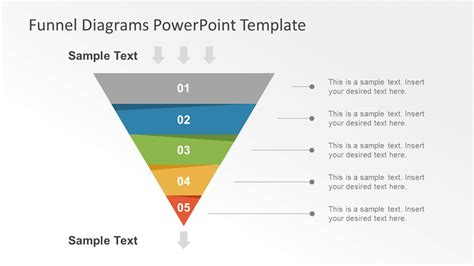 powerpoint funnel diagram marketing funnel diagrams powerpoint template slidemodel