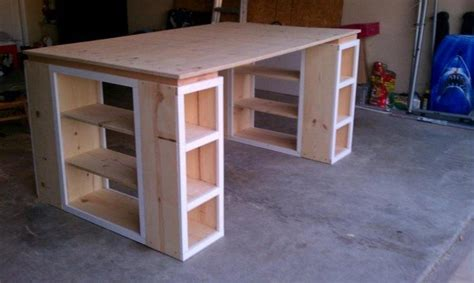 Easy To Build Large Desk Ideas For Your Home Office The Diy Large Desk