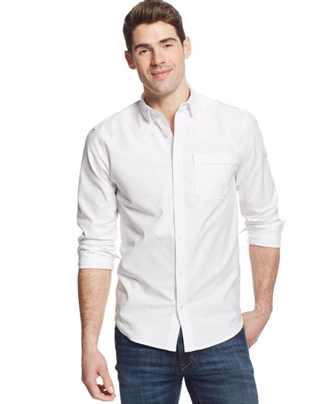 Kaost Shirt Armour 07 Bajutshirt armour oxford performance shirt in white for lyst