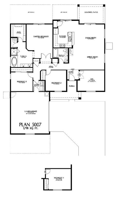 Ranch Rambler Style Home Peoria Az New Homes Riverstone Estates