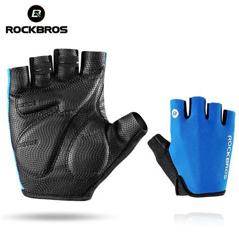 bike gloves rockbros cycling gloves half finger bike gloves shockproof