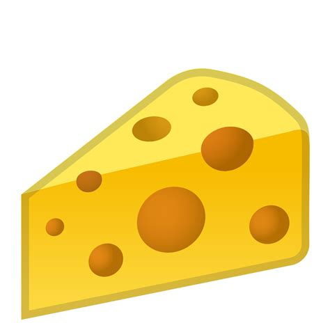 cheese emoji cheese wedge icon noto emoji food drink iconset