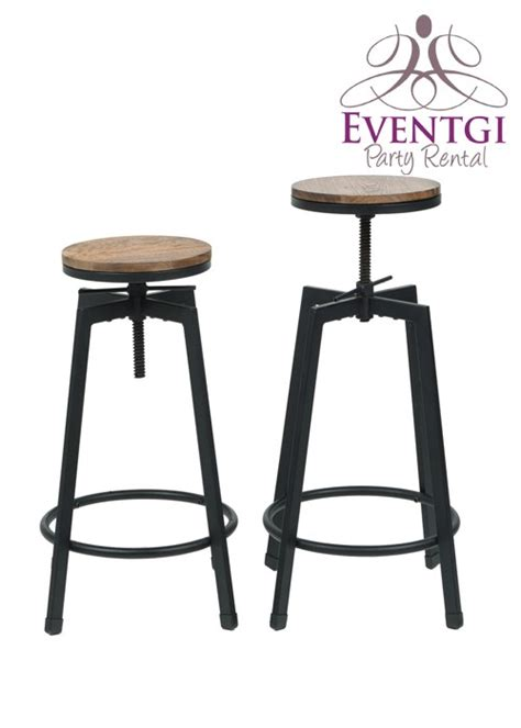 rent bar stools vintage bar stools rentals rustic bar stool rental