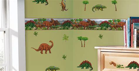bordure kinderzimmer dinosaurier wandtattoo wandsticker kinderzimmer dinosaurier dino