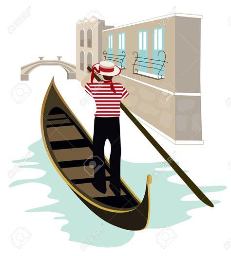 cartoon venice boat gondola clipart clipground