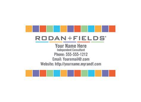 rodan fields diy business card template