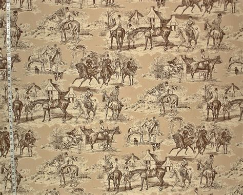 equestrian upholstery fabric victorian horse toile fabric new pattern 09 july 2013