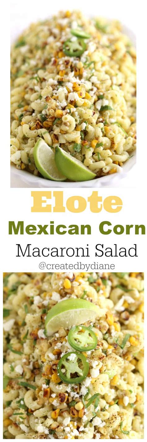 mexican macaroni salad recipe from pillsbury com mexican corn macaroni salad created by diane