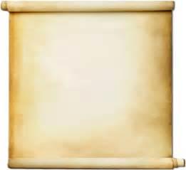free blank scroll paper clipart best