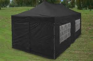 Black Canopy Tent by Black 10 X 20 Pop Up Canopy Party Tent