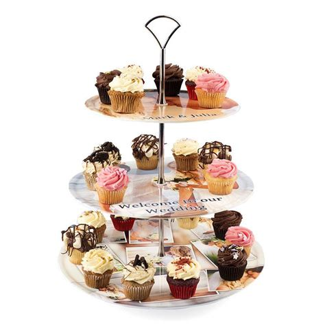 etagere cupcake personalised cake stand custom cake stands make in uk