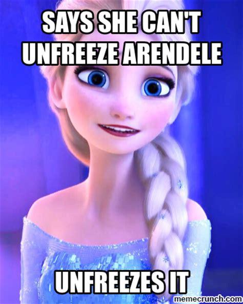 Elsa Memes - scumbag elsa
