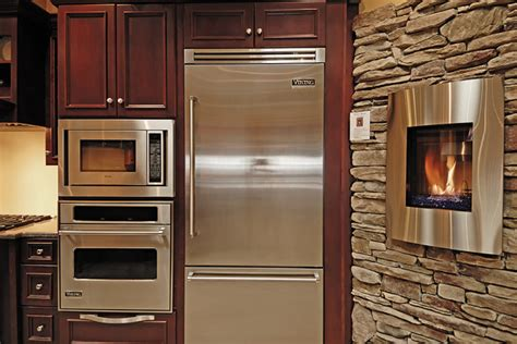 Fireplace Appliances by Viking Kitchen Appliances And Kozy Heat Nicollet Fireplace