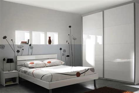 chambres d h es jolivet d 233 co chambre adulte gris et blanc
