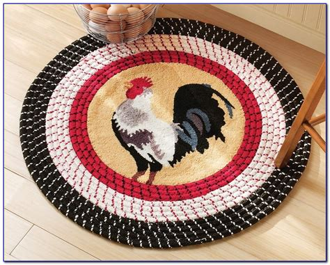 rooster rugs for kitchen rugs home design ideas