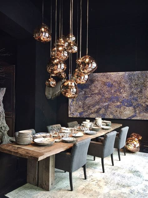 tom dixon copper shade   melt family lamp