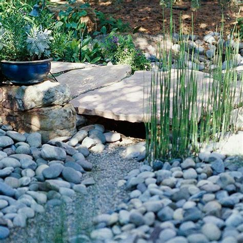dry stream bed diy dry creek beds the garden glove