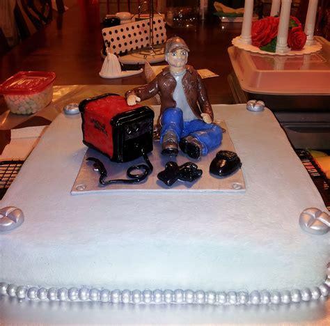 welding grooms cake sheilas creations cake decorating cake wedding