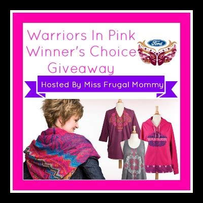 Warriors Giveaways - warriors in pink giveaway mostly together mommy