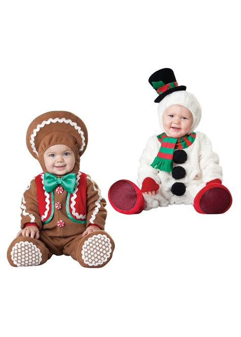 christmas gingerbread man  snowman baby boys costumes christmas costumes