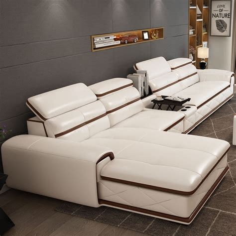 New Modern Sofa Designs 2014 New Dubai Furniture Sectional Luxury And Modern Corner Leather Living Room Arab L Shaped 1