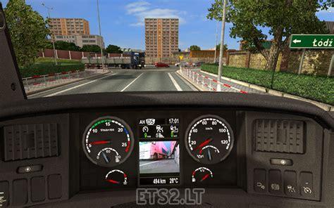 volvo truck dashboard scania dashboard ets 2 mods