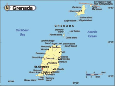 where is grenada on a map about grenada rosie