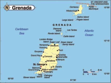 map of grenada island about grenada rosie