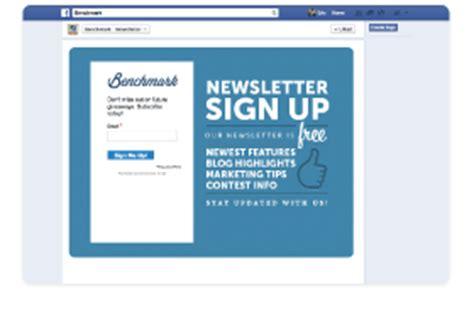 social media integration benchmark email