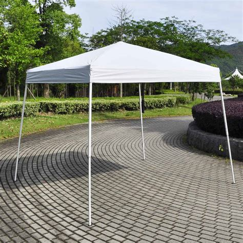 8x8 gazebo mcombo 8x8 10x10 ez pop up canopy tent gazebo with