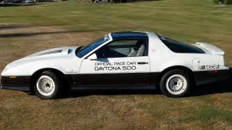 Vaccum Motors New Purchase 1983 Pontiac Trans Am Daytona Pace Car