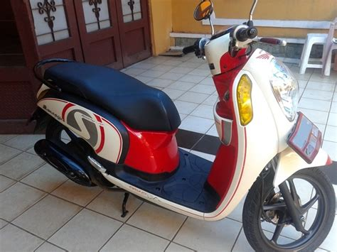 Stiker Striping Motor Honda Scoopy Sporty 2017 Putih Gambar Motor Scoopy Merah Putih Automotivegarage Org