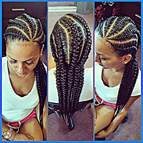 neat corn row style i love these cornrows done by lovehard grindharder they