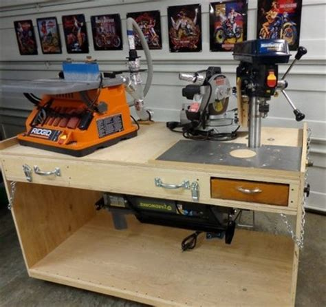 flip top tool bench flip top workbench five way by ed lumberjocks com