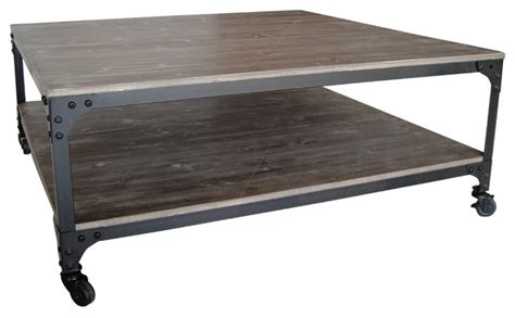 Industrial Rustic Coffee Table Industrial Coffee Table Rustic Coffee Tables By Screen Gems Furniture Accessories