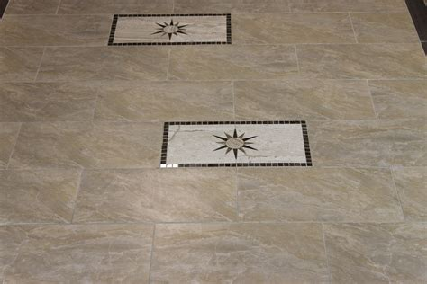 decorative ceramic tile inserts with double insert