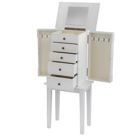 hton bay jewelry armoire hton bay jewelry armoire 236473 housekeeping