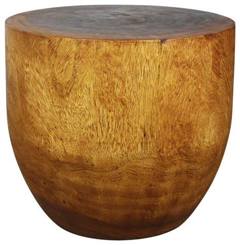drum accent tables sustainable wood oval drum table side tables and end