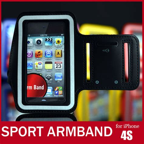 Sports Armband For Iphone 3g 3gs 4 5 soft belt sport armband for iphone 4s colorful arm band