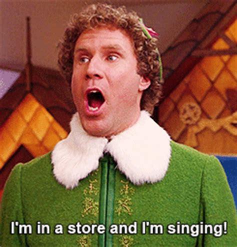 will ferrell singing elf movie on tumblr