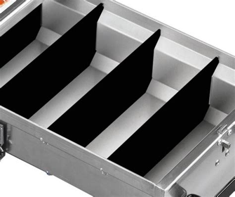 Plastic Drawer Dividers by Jobox Aluminum Drawer System Plastic Drawer Dividers