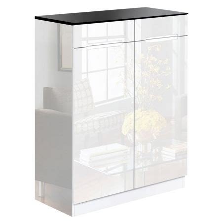 high gloss shoe cabinet rack black white sales