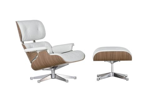 vitra chaise lounge lounge chair ottoman white version vitra milia shop