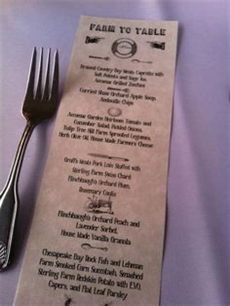 farm to table menu ideas 1000 images about farm to table decor ideas on