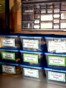 Garage Organization Labels 5 Tips To Organize Your Garage The Creative