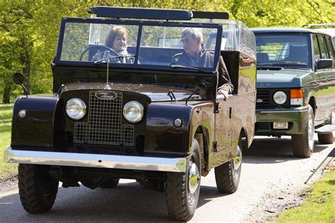 land rover queens the queen s land rovers series 1 one ten station wagon