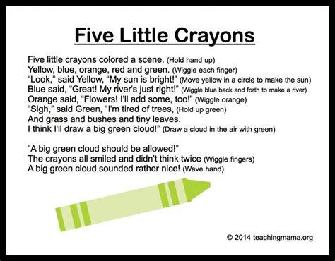 preschool color songs 10 preschool songs about colors classroom ideas