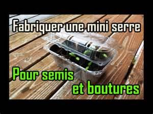 comment fabriquer une mini serre 224 semis et boutures